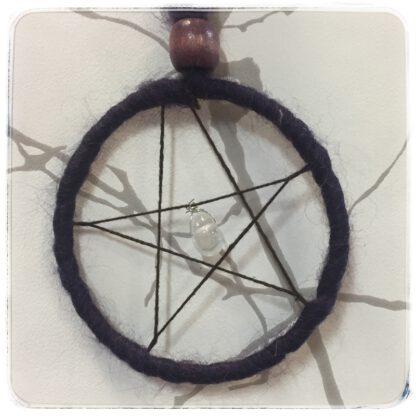Viiskanta eli pentagrammi tumma kehä