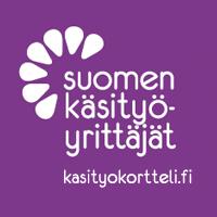 Suomen käsityöyrittäjienkäsityökortteli logo